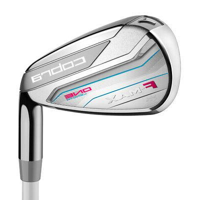 NEW Lady Cobra F-Max 7-PW+SW Irons - Choose One Length or Va