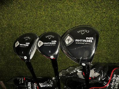 new left handed golf clubs big bertha