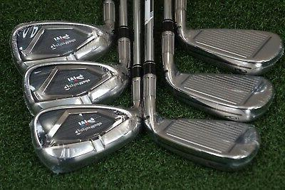 NEW TAYLORMADE M4 STEEL IRON REGULAR IRONS MAX 5-PW 0704903