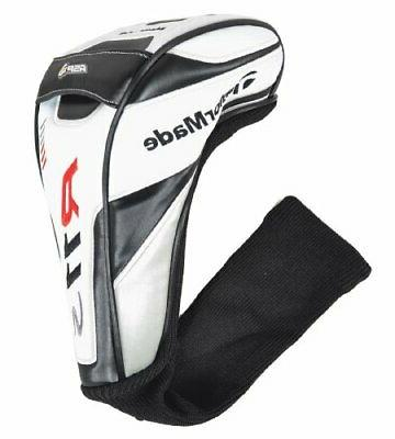 new r11s driver headcover wht blk red
