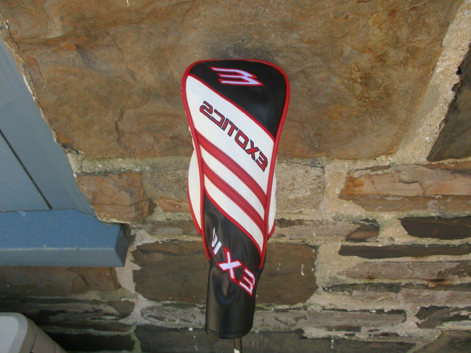 Exotics EX10 3 Wood Rogue Shaft with Headcover