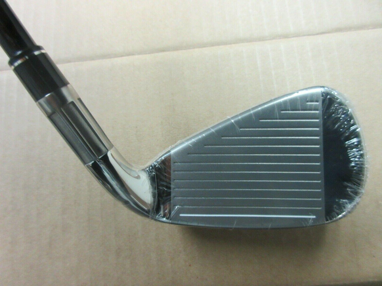 NEW TAYLORMADE 5-PW IRON 6R MEN'S
