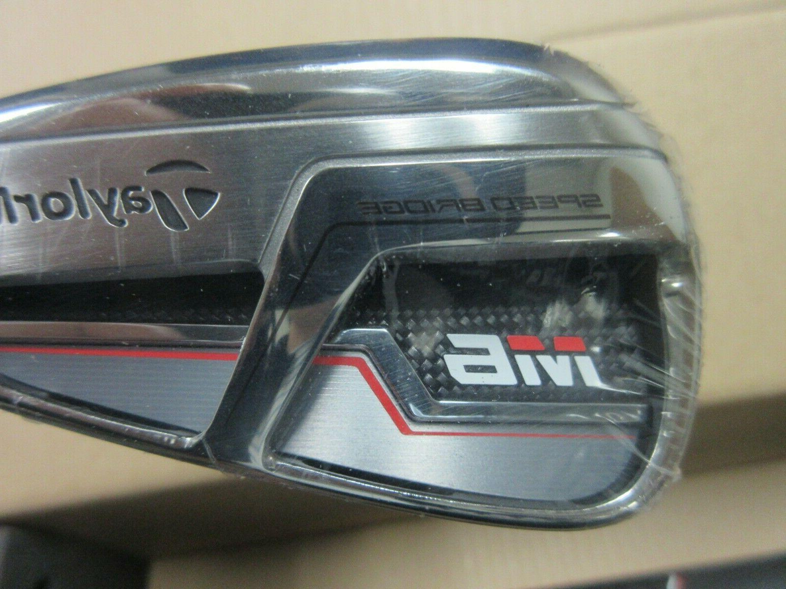 NEW TAYLORMADE GOLF M6 5-PW IRON 6R MEN'S