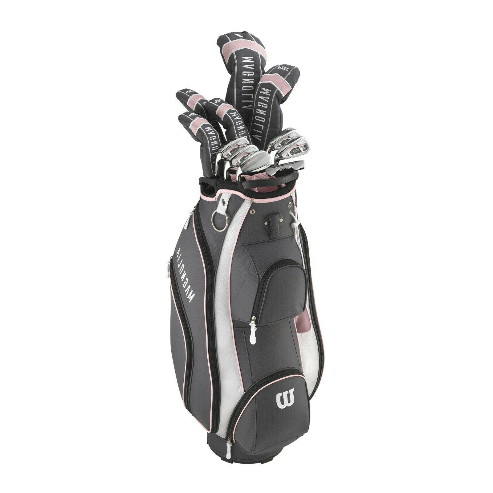 Wilson Staff  - New Women's Magnolia Complete Golf Club Set