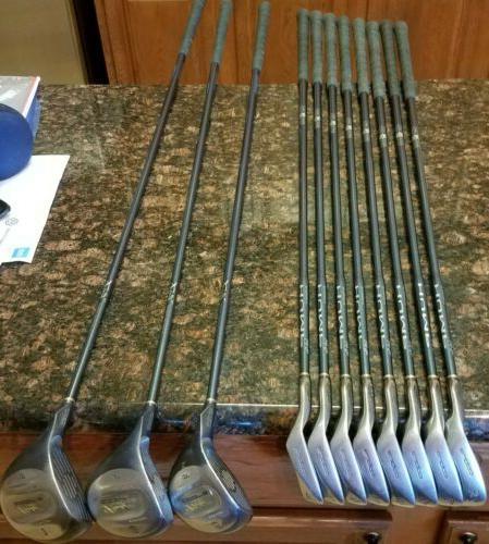 Nice Ladies Full Set King Cobra Woods/Irons/Bag/Putter Shafts