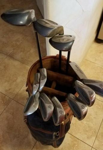 Nice Ladies Set King Woods/Irons/Bag/Putter Graphite