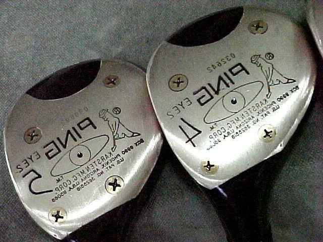 OVERSIZE Ping Eye Golf Woods Black Driver 3 4 5 Mint Grips