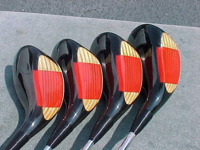 OVERSIZE Ping Eye Golf Clubs Black 4 5 Mint Grips