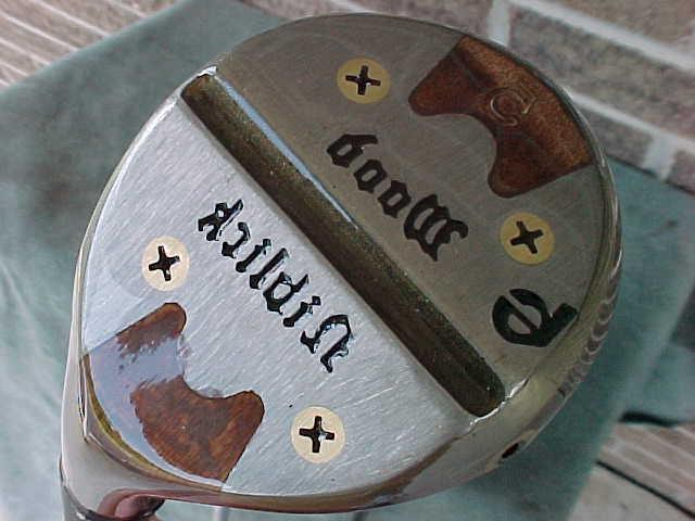 PERSIMMON Niblick Clubs Set 3 Golf Pride