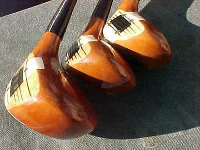 PERSIMMON Macgregor set 5 Golf Pride
