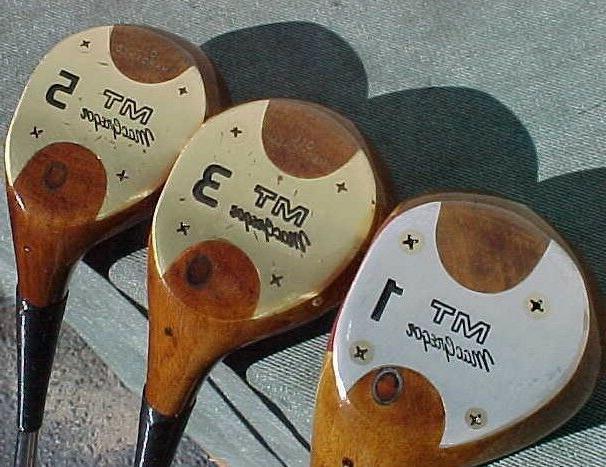 PERSIMMON Macgregor MT Clubs Woods 3 Golf