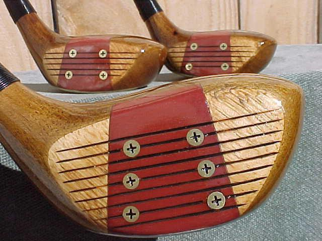 PERSIMMON Clubs Woods Golf Pride Grips