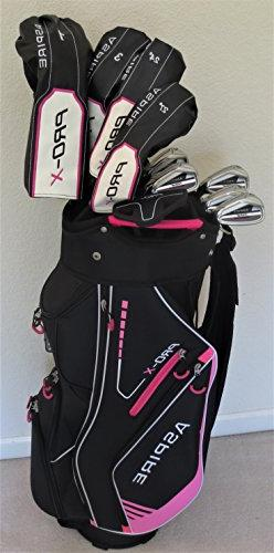 Petite Womens Golf Set Clubs - for Ladies 5ft to 5ft 6in Tal