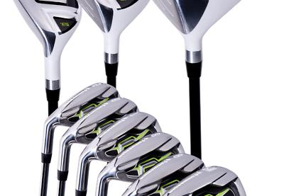 Pinemeadow Men's PGX Golf Set-Driver, 3 Wood, Hybrid, 5-PW I