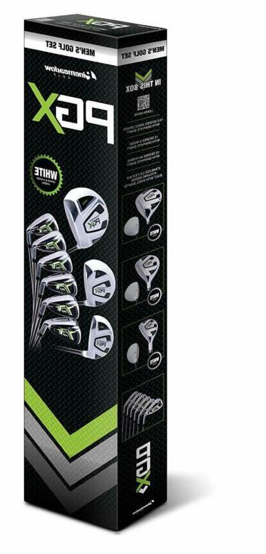 Pinemeadow Pgx Set-Driver, 3 Wood, Hybrid, 5-Pw Irons