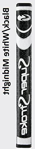 SuperStroke Pistol GTR 2.0 Putter Grip, Black/White Midnight