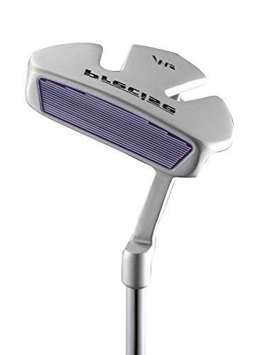 Precise Ladies Clubs Titanium Driver, Hybrid, S.S. 5-PW Putter, Bag, H/C's Purple