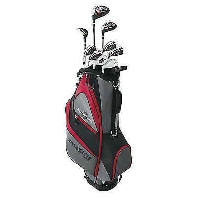 Wilson Profile RH Flex Steel Golf Package