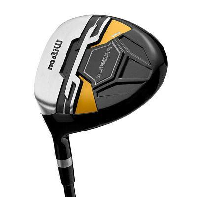 Wilson LH Flex Graphite Golf Stand Bag Set, Gold