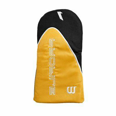 Wilson Men's RH Flex Graphite Steel Golf Stand Set, Gold