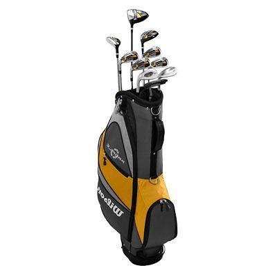Wilson XD Men's RH Graphite Golf Stand Set, Gold