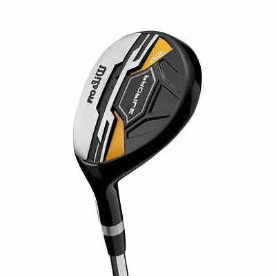 Wilson XD Men's RH Flex Golf Set,
