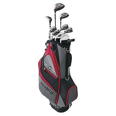 Wilson XD RH Golf Club Stand Bag Package