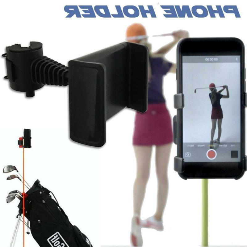 Recording Selfie Golf Club Accessories Phone Holder Golf Ass