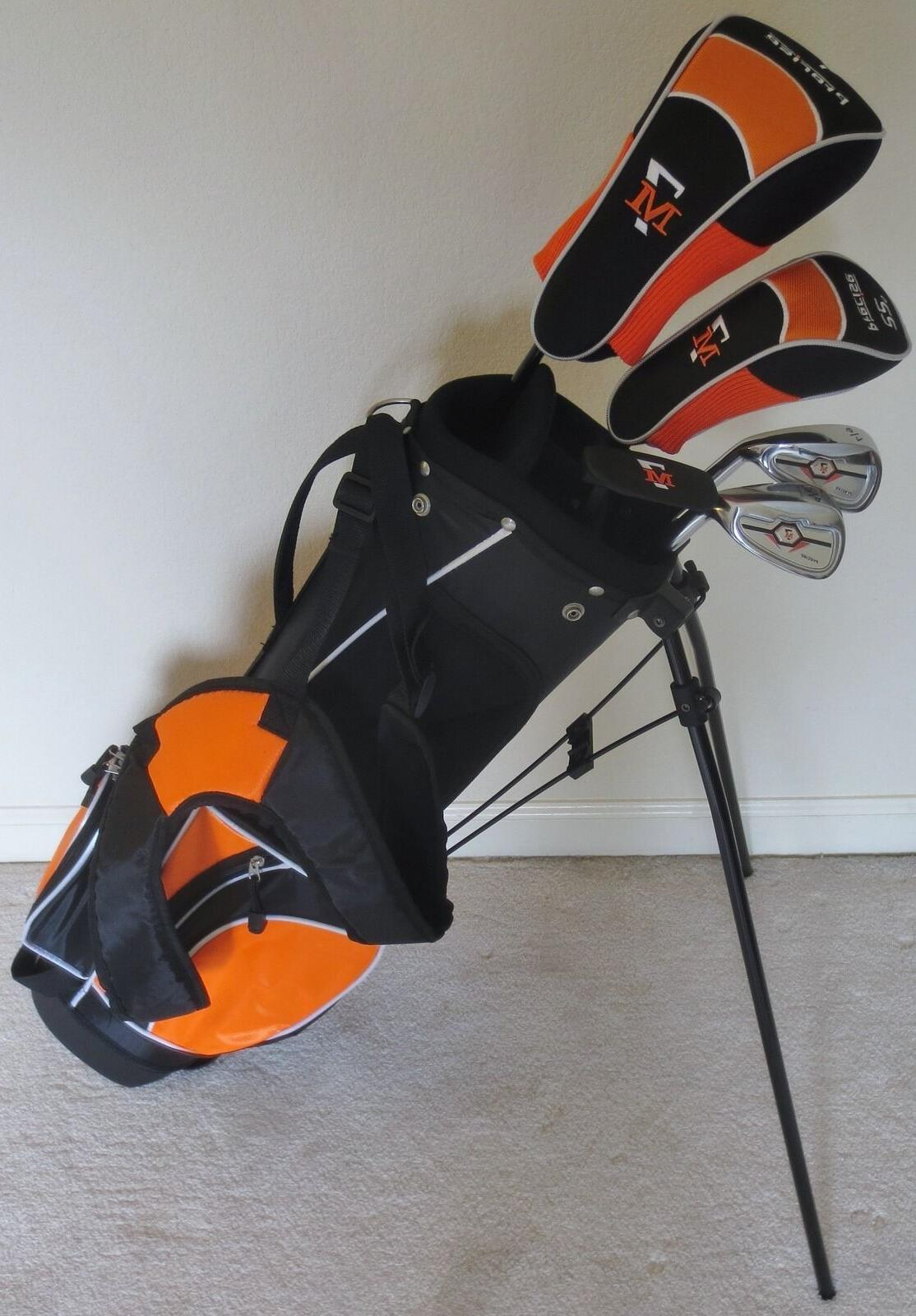 NEW RH Junior Golf Club Set with Jr. Stand Bag for Kids Ages