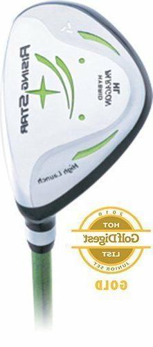 Paragon Rising Star Kids Junior Hybrid Iron Ages 8-10 Green