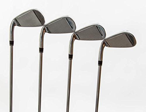 TaylorMade RSi Iron Set 4-PW GW True Temper Reax Steel 38.5 in