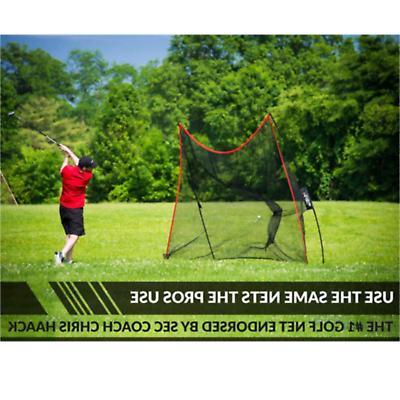Rukket Haack Golf Net Bundle with Hitting Mat (Lifetime Warranty