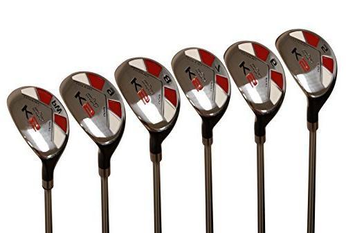 senior golf clubs hybrid set