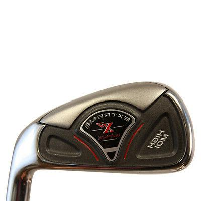 Senior Made Golf Graphite Mens Right Iron Set Taylor Fit
