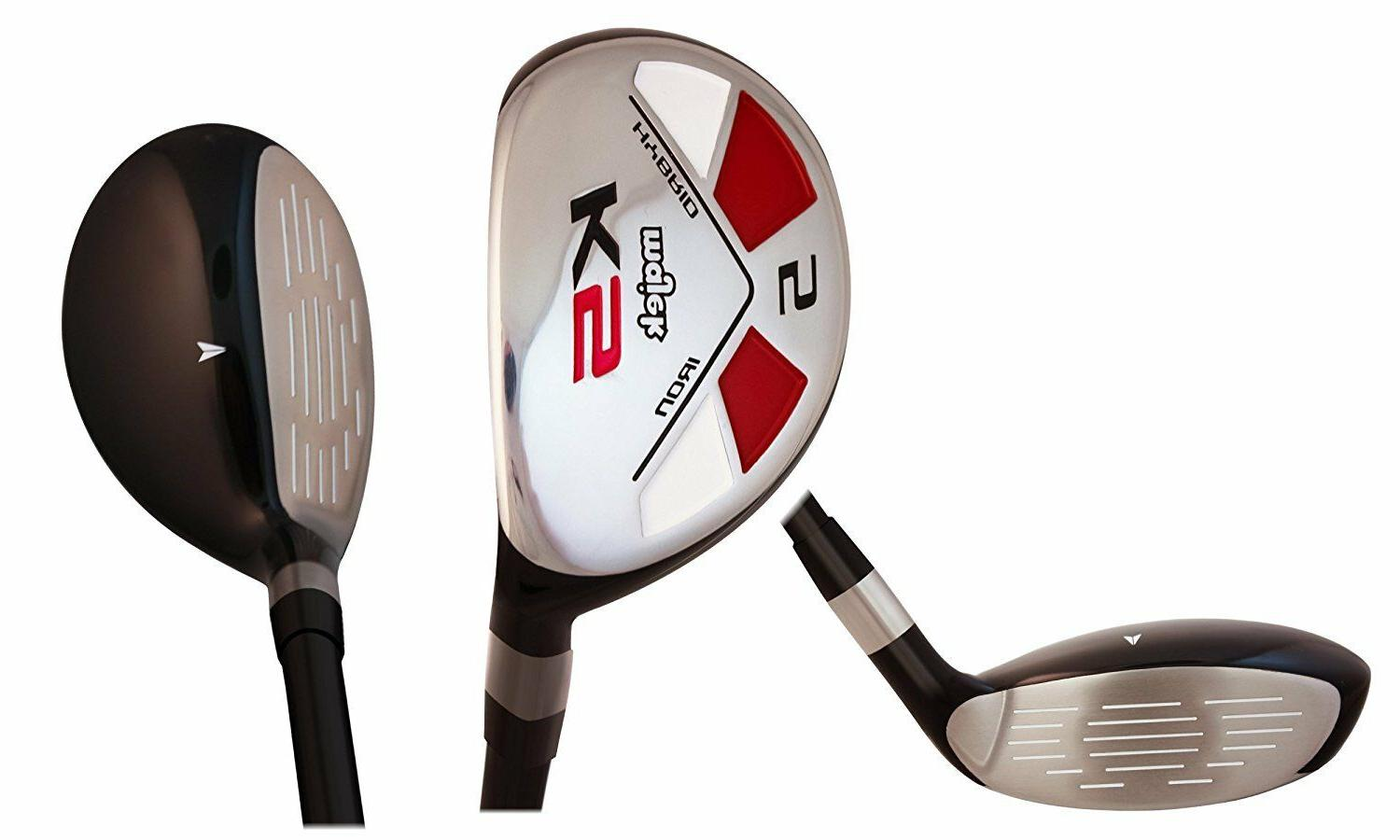 Senior One Majek Golf True Hybrid A Flex Clubs