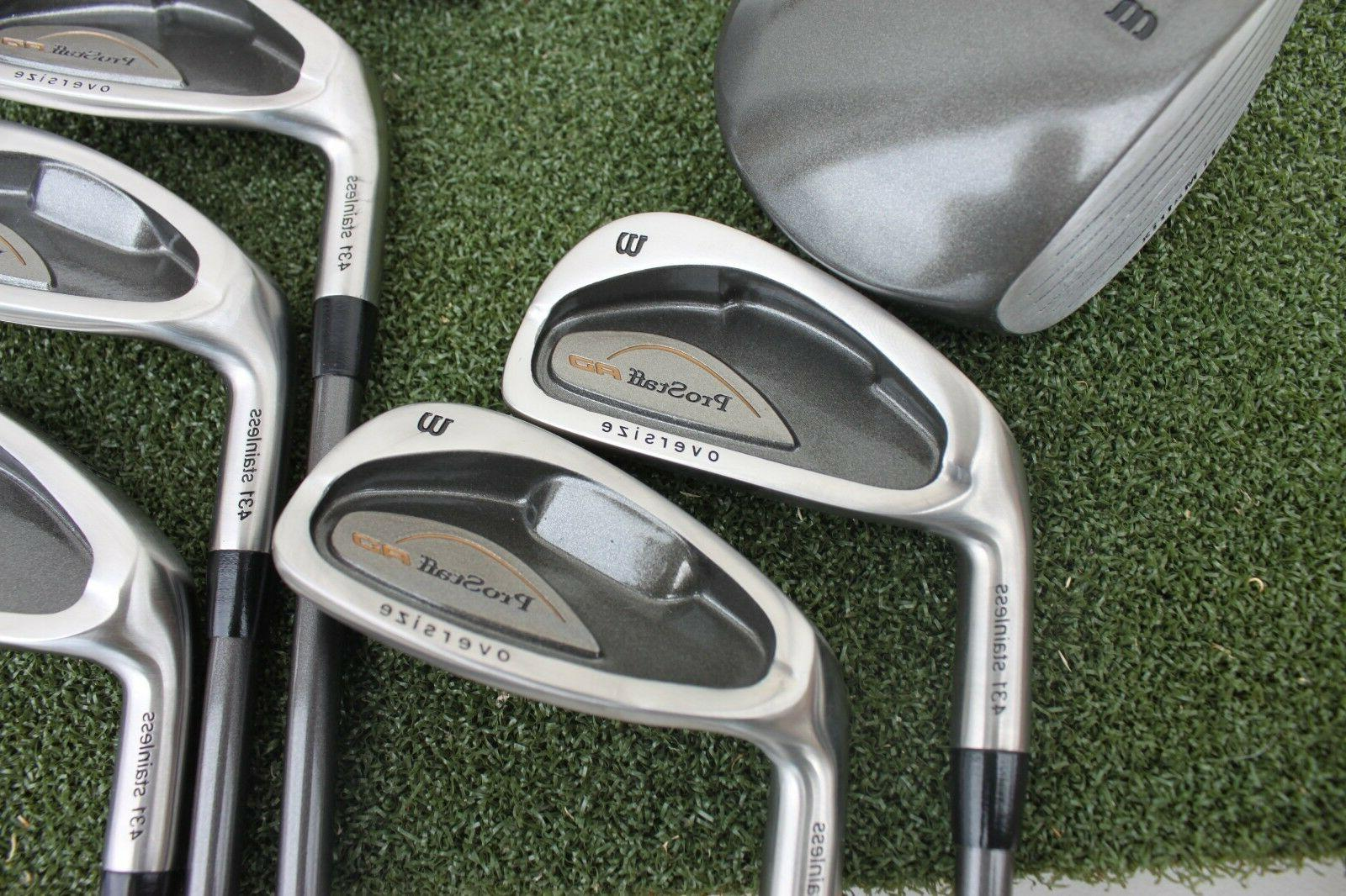 Wilson Pro AD Distance Clubs Left