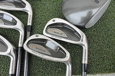 Wilson Pro STAFF Accuracy Golf Clubs Set NEW