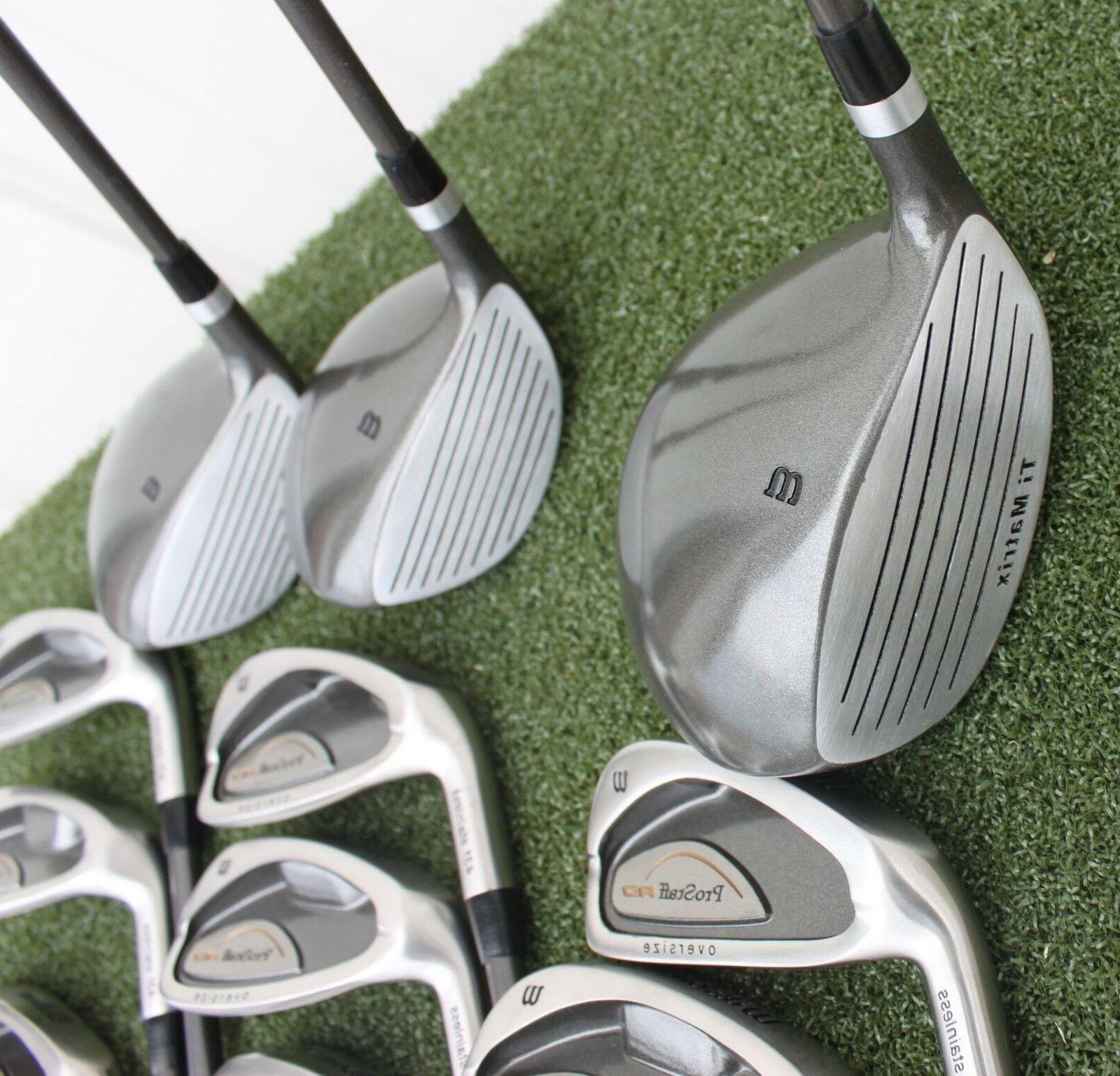 Wilson Pro AD Accuracy Clubs Set Left Hand