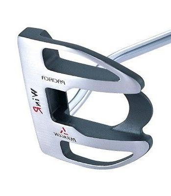 stainless steel belly heavy golf adult putter