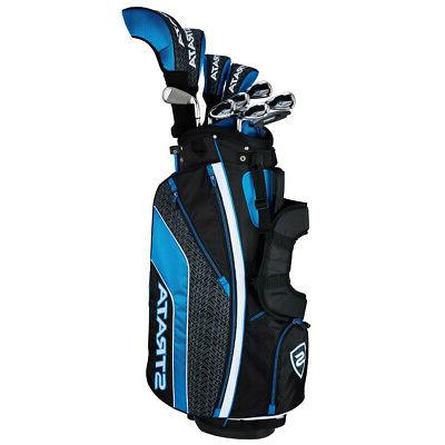strata 12 piece golf set steel choose