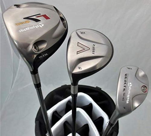 TaylorMade Mens Complete Golf Set Regular Flex Made