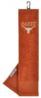 Texas Longhorns Face/Club Embroidered Towel