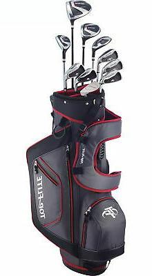Top Flite XL 13-Piece Complete Golf Set Mens Regular Flex Le