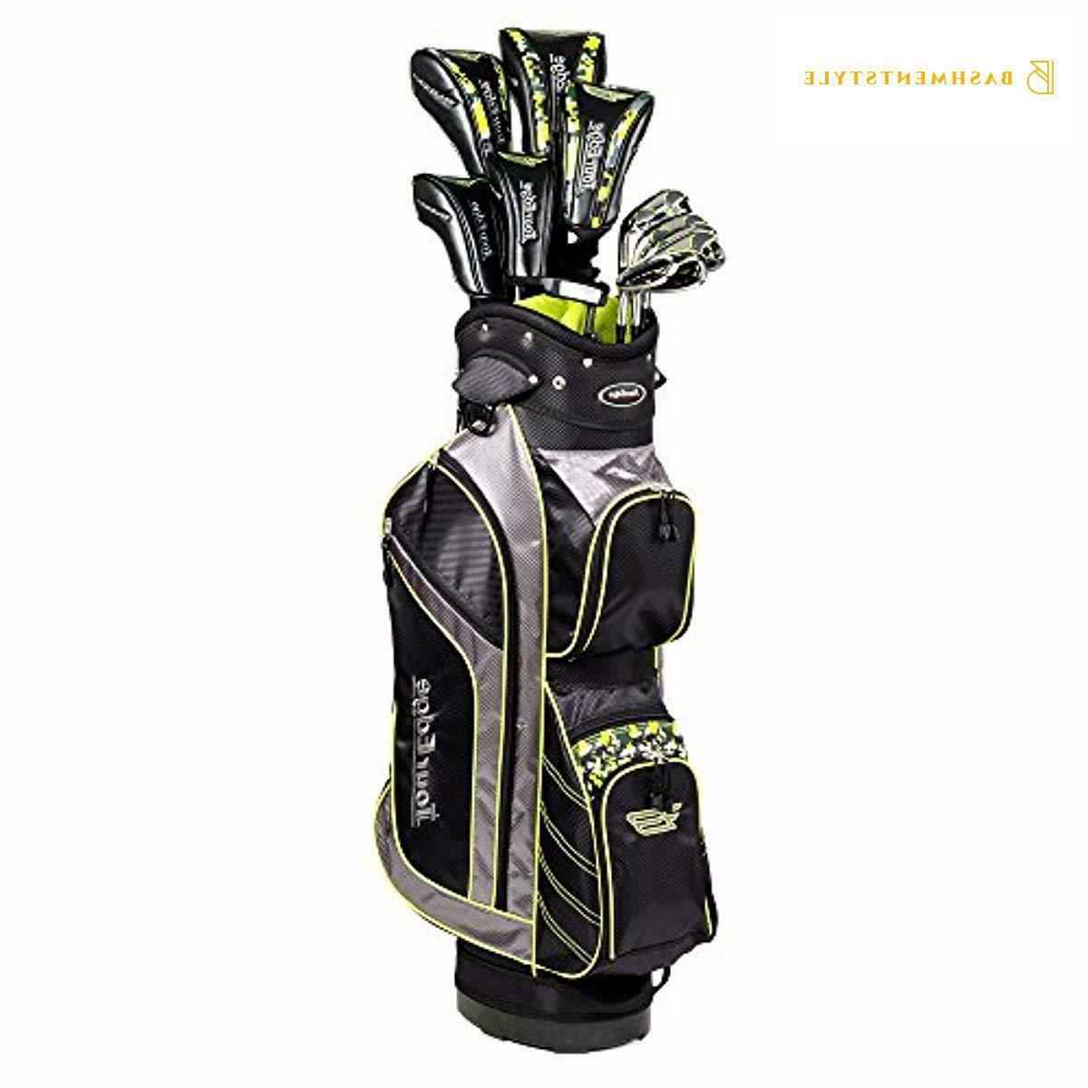Steel Full Golf Club Set, Black
