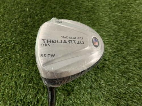"""U.S. Kids Golf UL 42"""" WT-25 Pink RH NEW"""