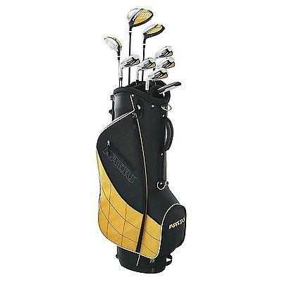 Wilson Men's 9 Piece Golf Stand, Yellow