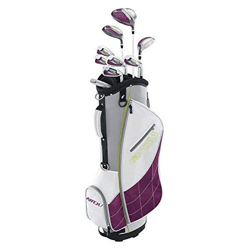 Wilson Ultra Ladies Left-Handed Super Long Golf Club Set wit