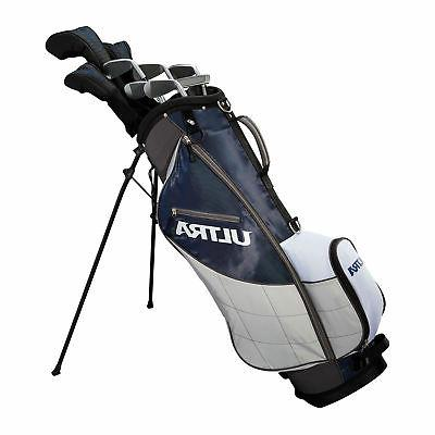 Wilson Ultra Mens Piece Right Handed Complete Golf Set Bag Balls