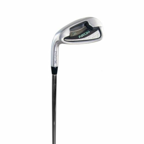 Wilson Handed Golf Club Set with Cart Gray/Mint
