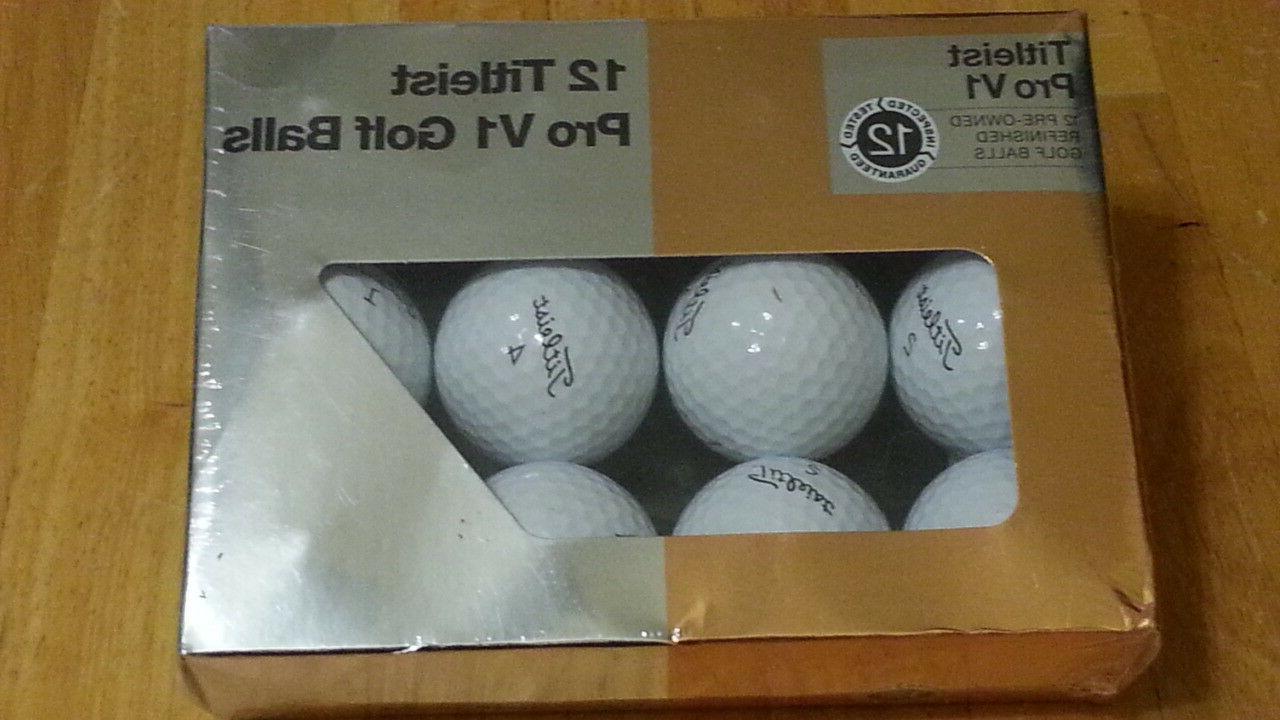v1 mint refinished golf balls